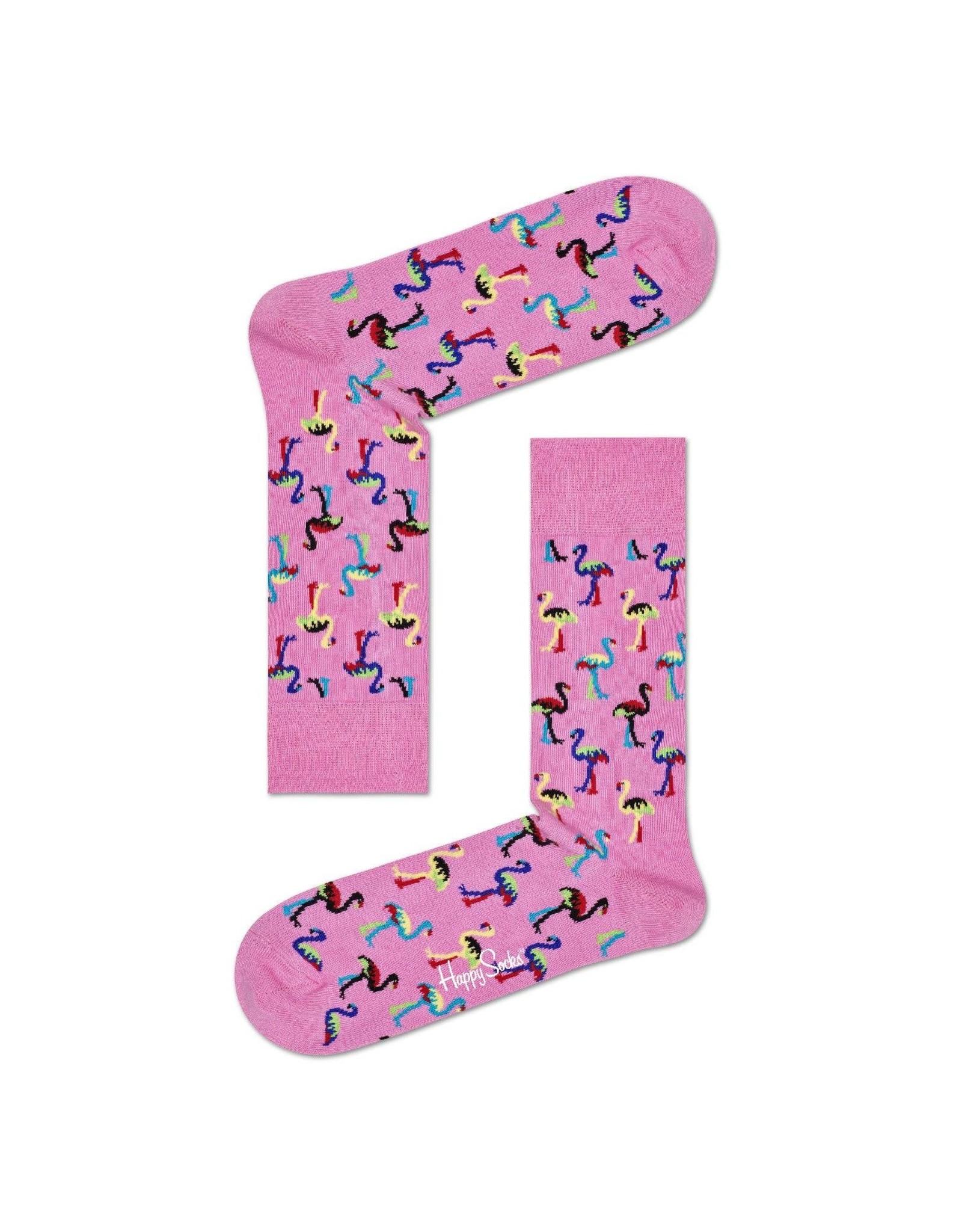 Happy Socks Flamingo sokken (MAAT 36/40)