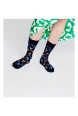 Happy Socks Flamingo sokken zwart (MAAT 36/40)