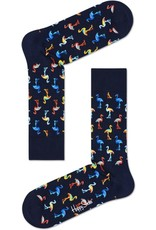 Happy Socks Flamingo sokken zwart