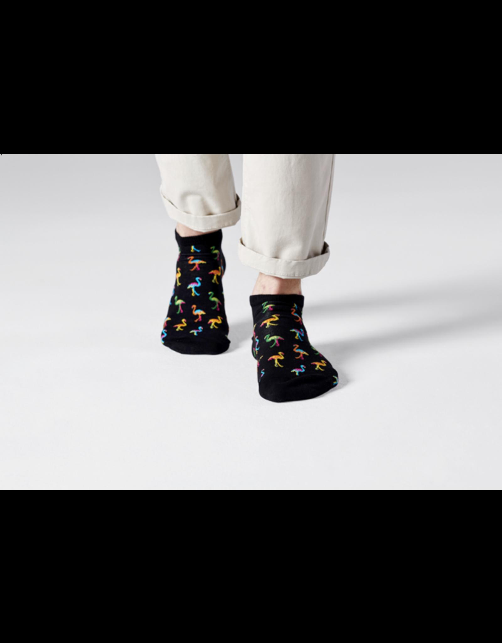 Happy Socks Flamingo lage sokken