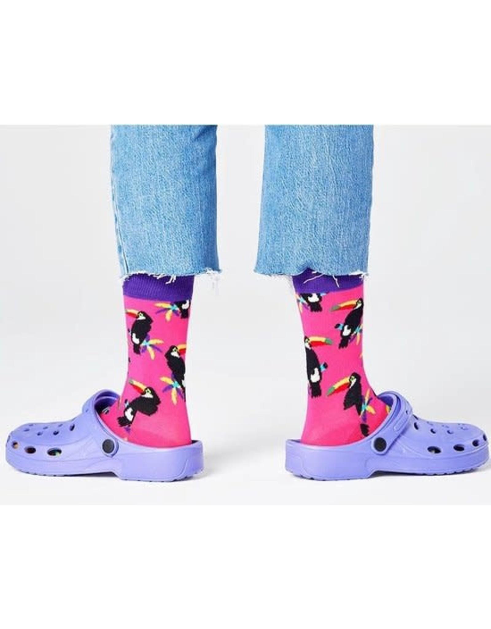 Happy Socks Sokken met toekans