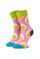 Happy Socks Sokken met lachende eitjes (MAAT 36/40)
