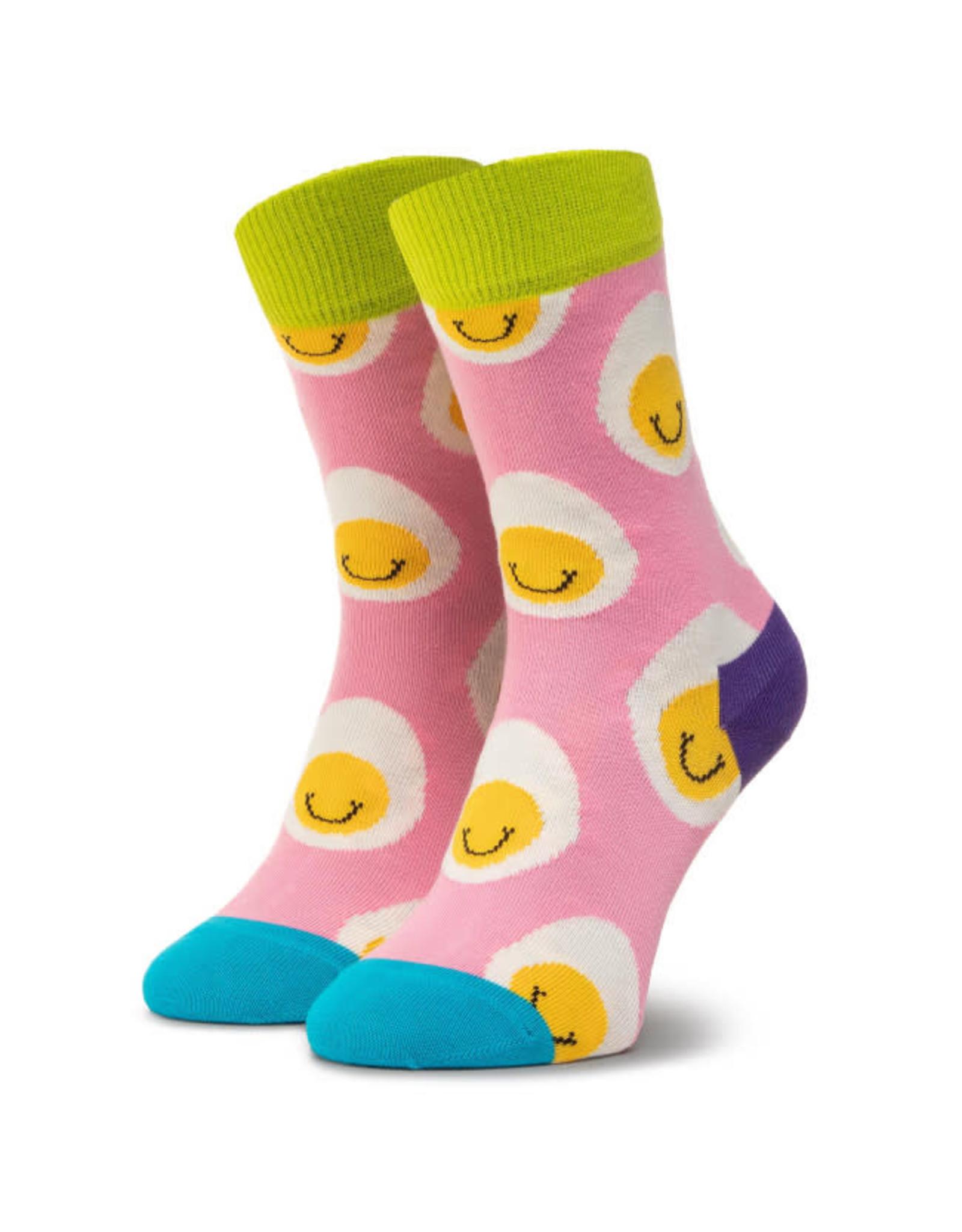 Happy Socks Sokken met lachende eitjes