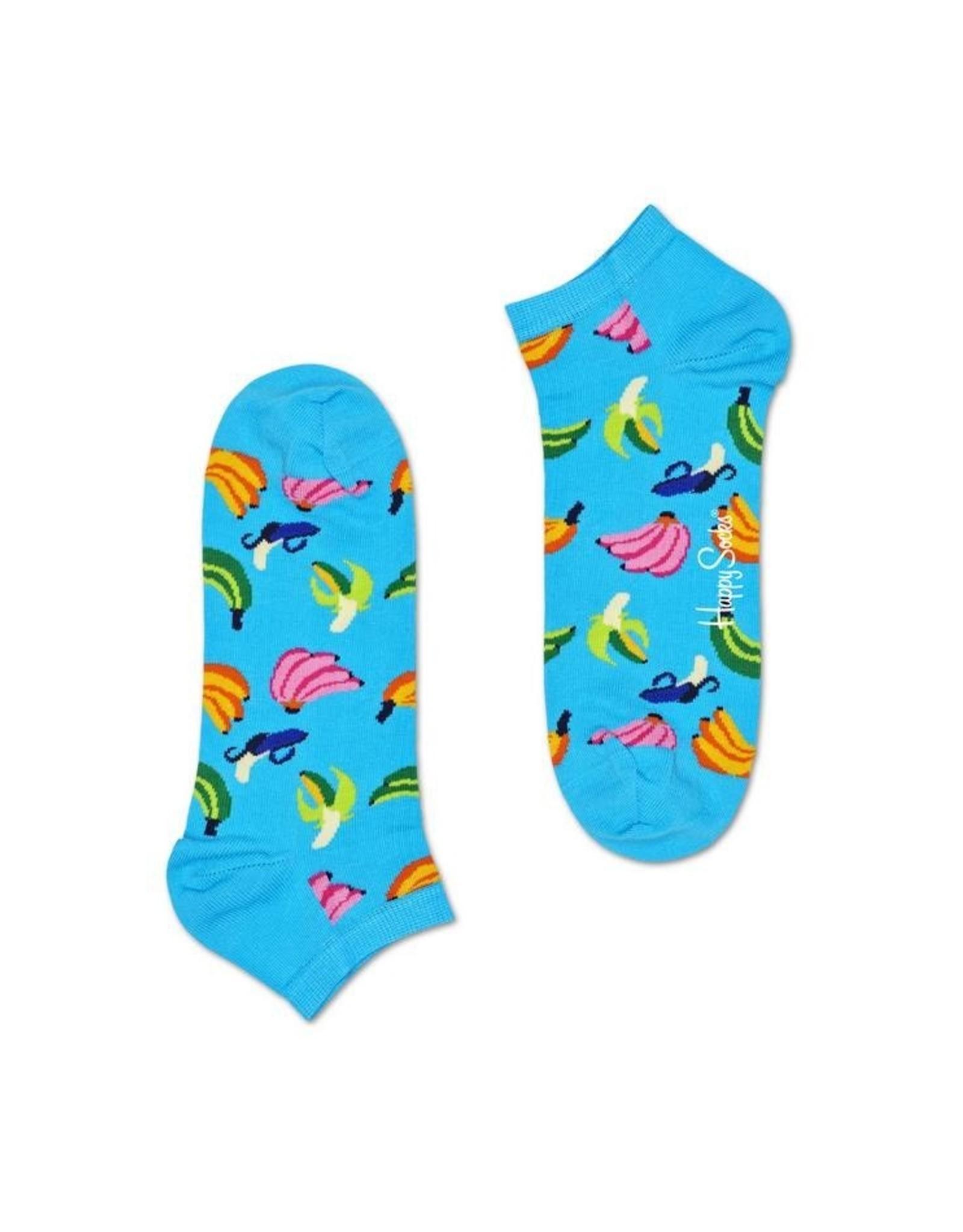 Happy Socks Lage sokken met bananen