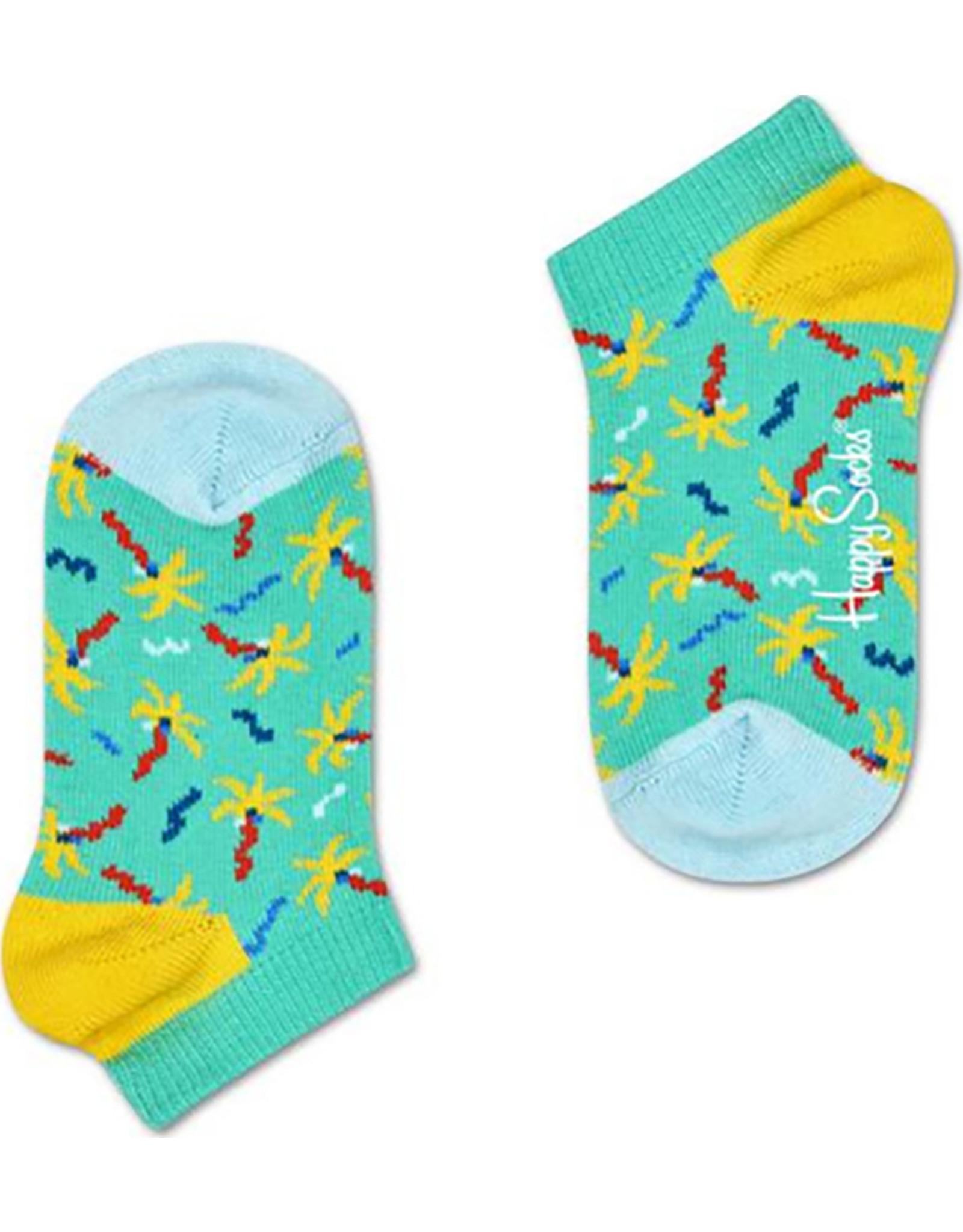 Happy Socks Lage zomersokken met confetti print