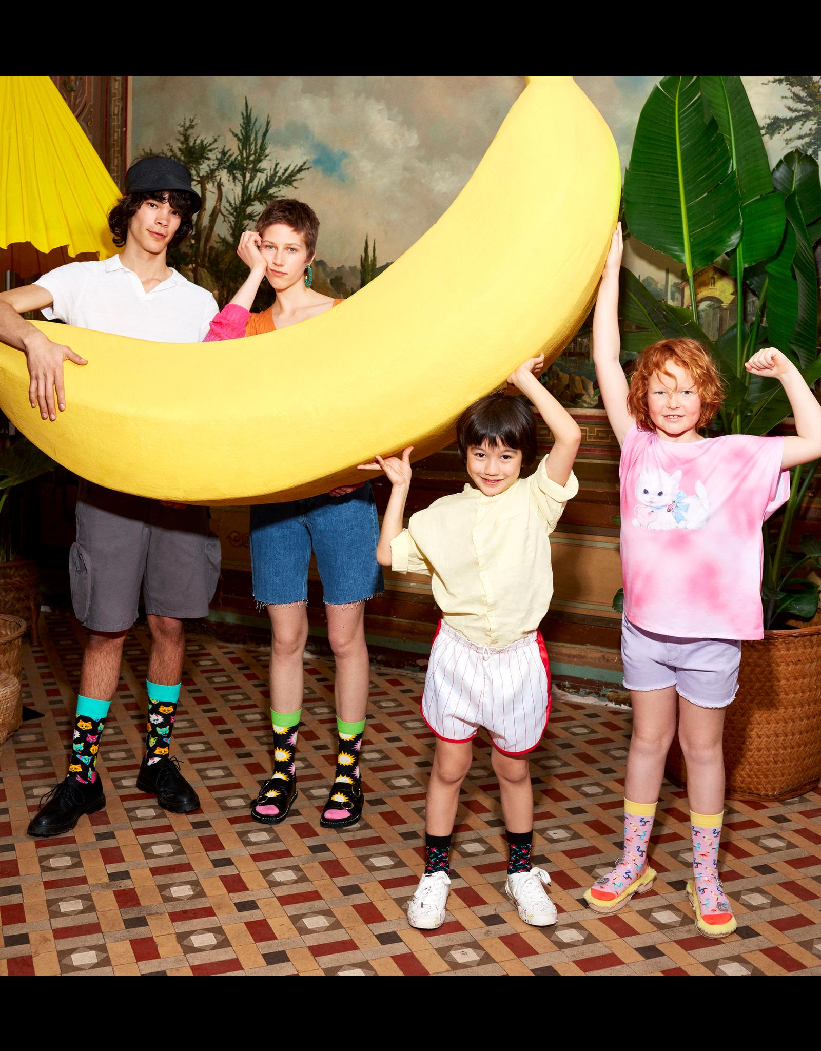Happy Socks Sokken met flamingo print