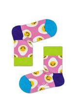 Happy Socks Sokken met printjes van lachende eitjes