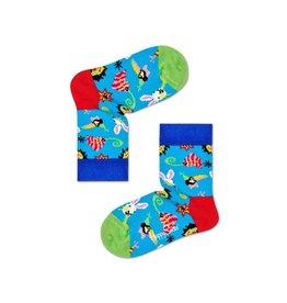 Happy Socks Sokken met feestvierende dieren