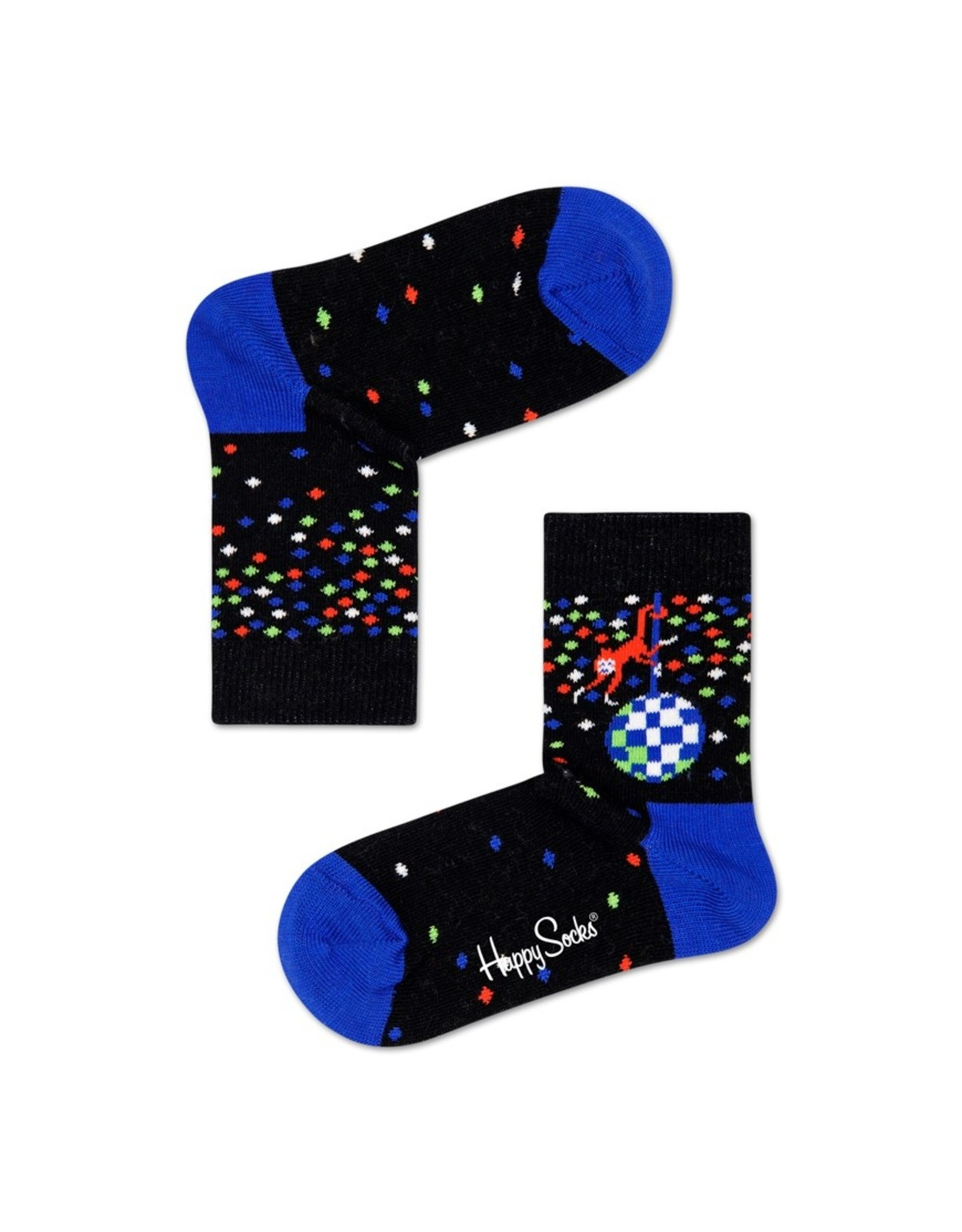 Happy Socks Sokken met disco print