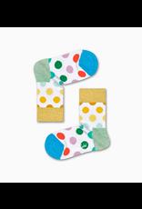 Happy Socks Glitter sokken met gekleurde stippen