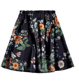 Name It Losse half lange rok met bloemen