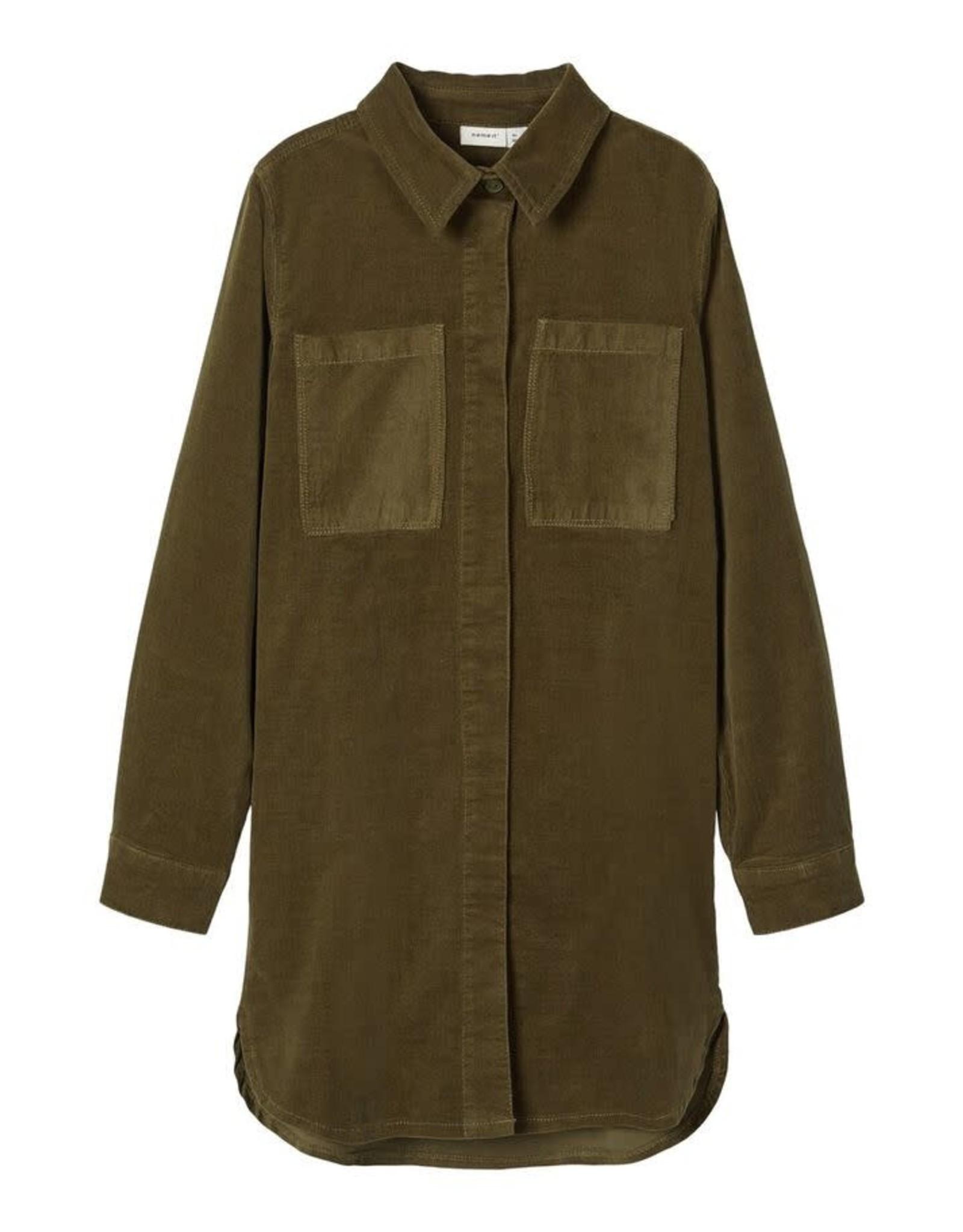 Name It Corduroy blouse jurk