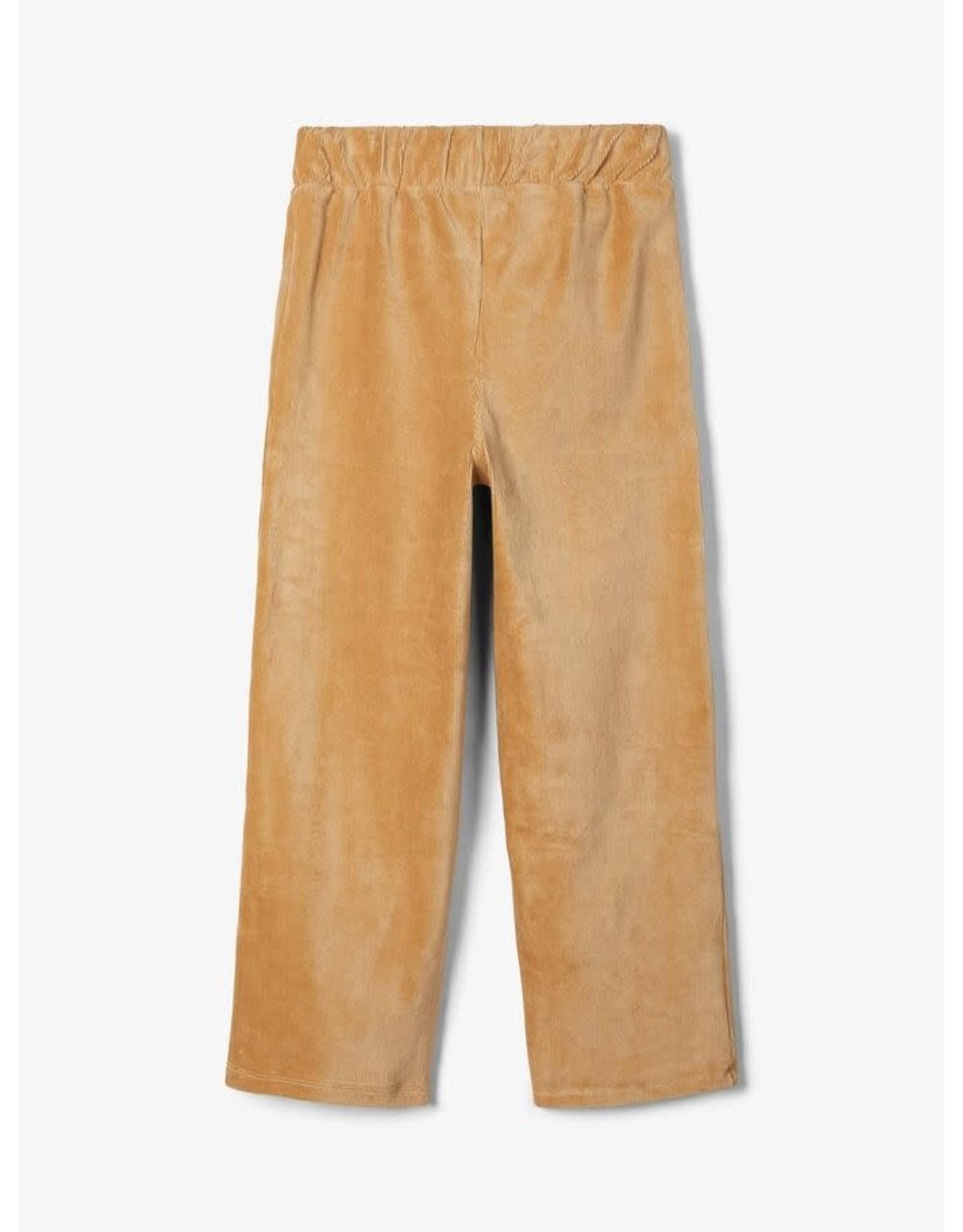 Name It Zachte brede beige broek