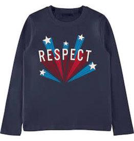 Name It Basis t-shirt donkerblauw met grafische print - LAATSTE MAAT 116