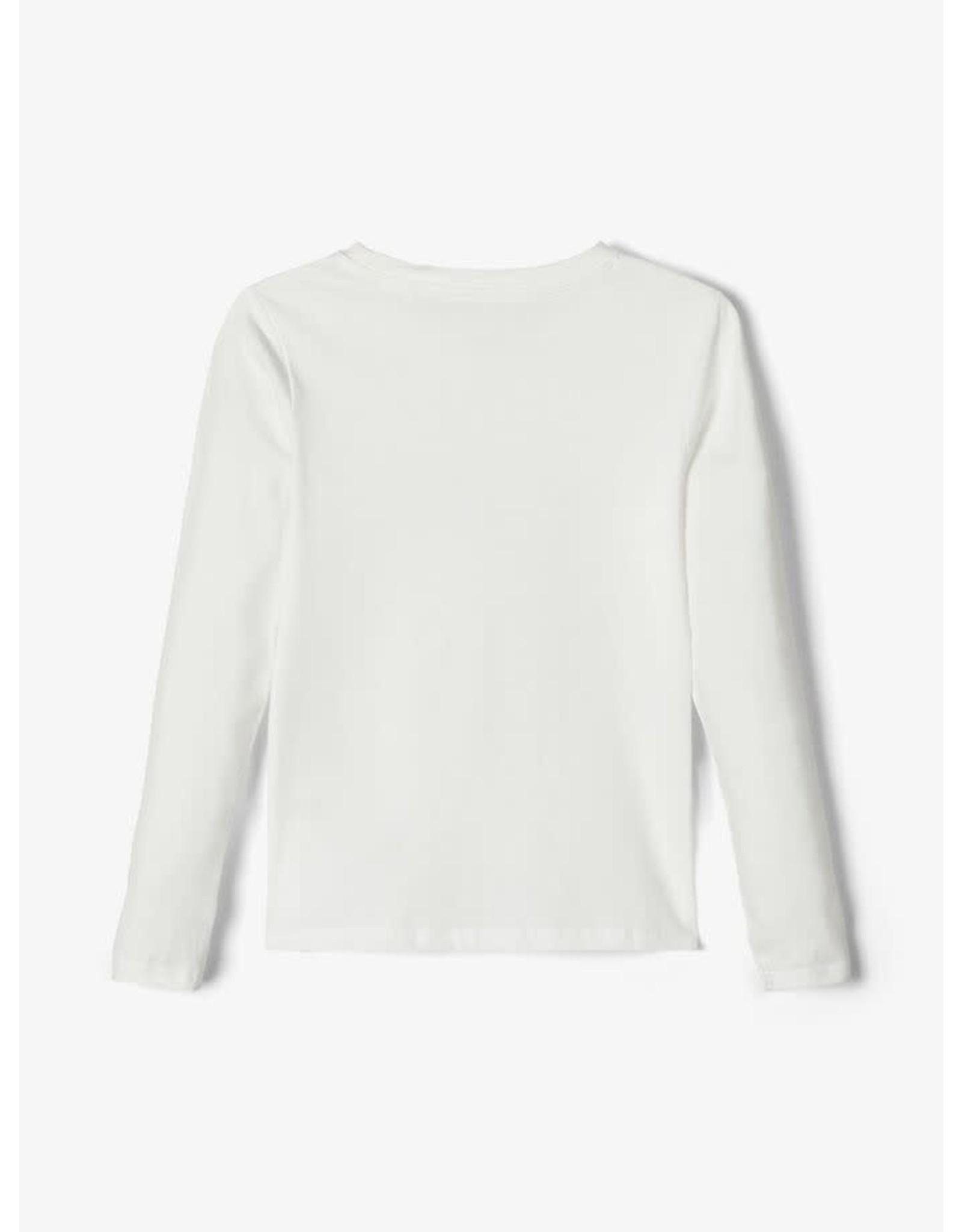 Name It Basis t-shirt wit met grafische print