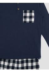 Name It Zachte katoenen pyjama met ruitjes - LAATSTE MAAT 122/128
