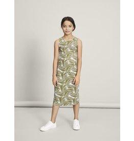 Name It Lang kleedje met palmbladen print