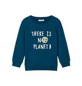 """Name It Trui met bedrukking """"there is no planet B"""""""