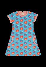 Maxomorra Maxomorra kleedje met vogeltjes print