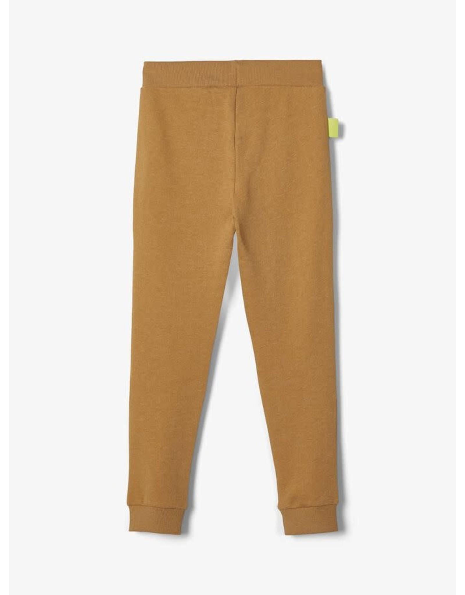 Name It Oker kleurige jogging broek
