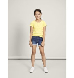 Name It Donkerblauwe jeans short voor meisjes