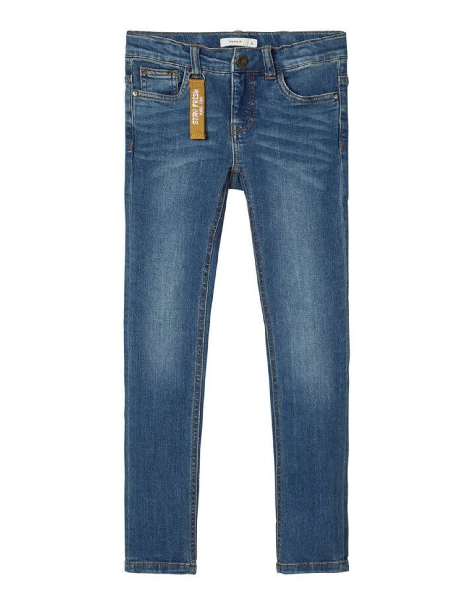 Name It Stretchy skinny fit jeans voor jongens