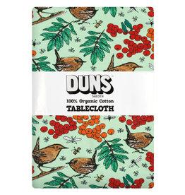 Duns Tafelkleed met vogel/blaadjes print (220 x 140 cm)