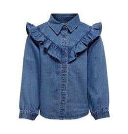 KIDS ONLY Stoer jeanshemd voor meisjes