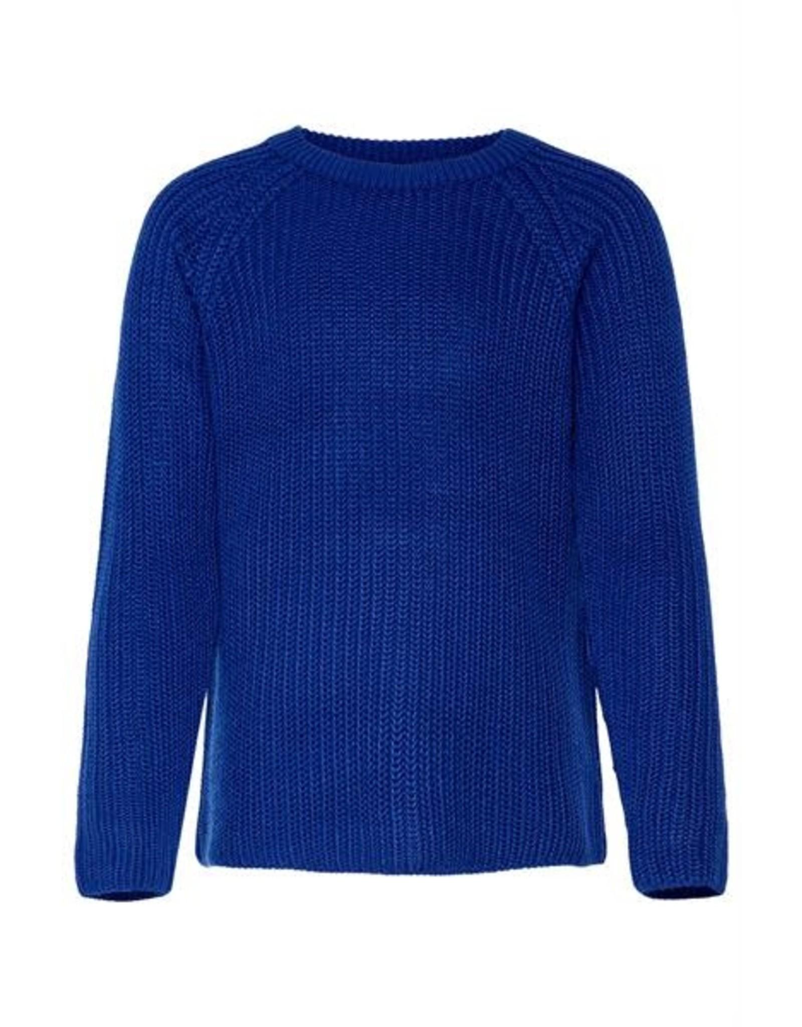 KIDS ONLY Koningsblauwe gebreide meisjes trui
