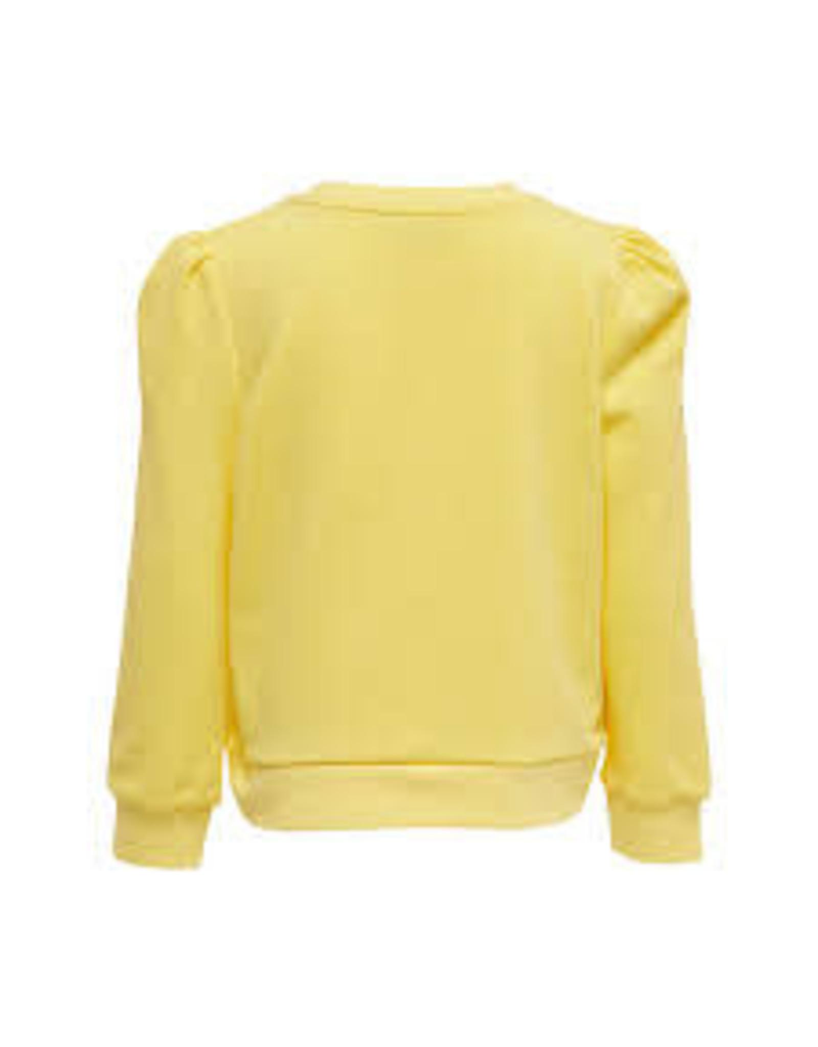 KIDS ONLY Gele trui met pofmouwen
