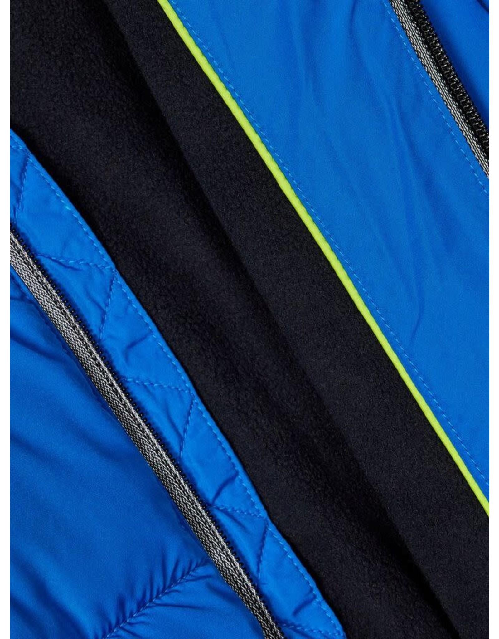 Name It Fel blauwe puffer jacket jongens winterjas