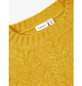Name It Korte gele kabeltrui - LAATSTE MAAT 116