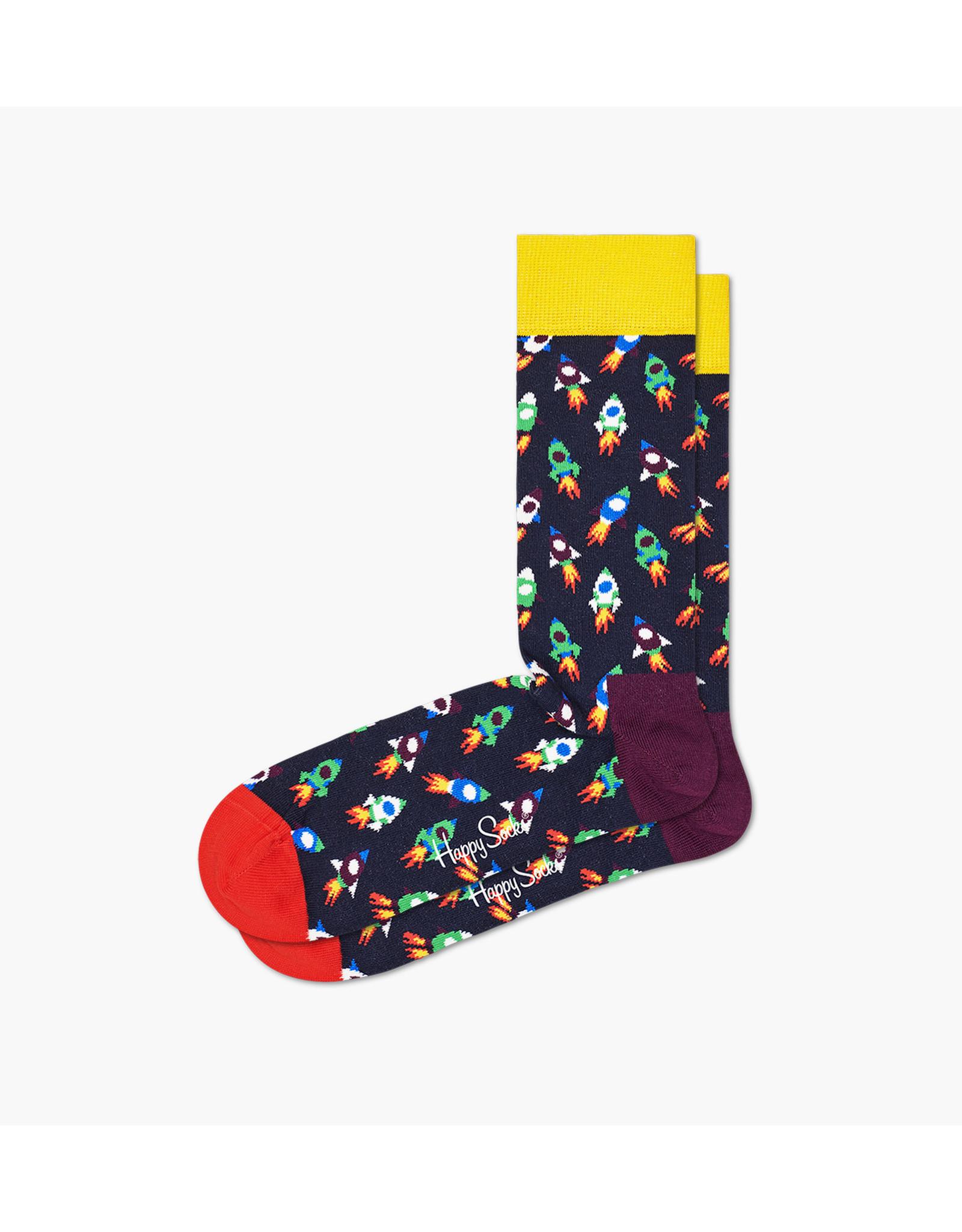 Happy Socks Sokken met raketten (MAAT 36/40 + 41/46)