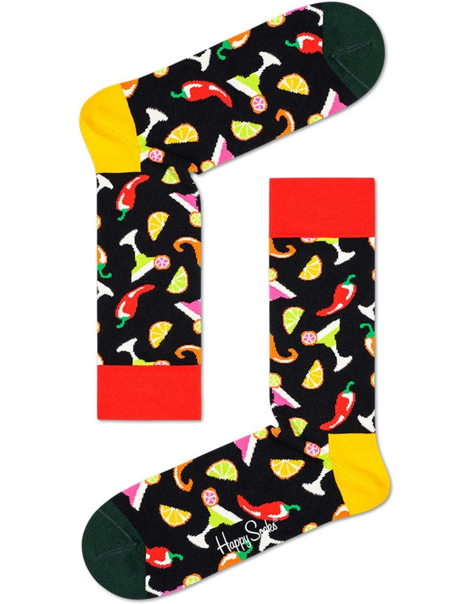 Happy Socks Sokken met de beste party drinks (MAAT 36/40)