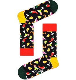 Happy Socks Sokken met de beste party drinks (MAAT 36/40 )