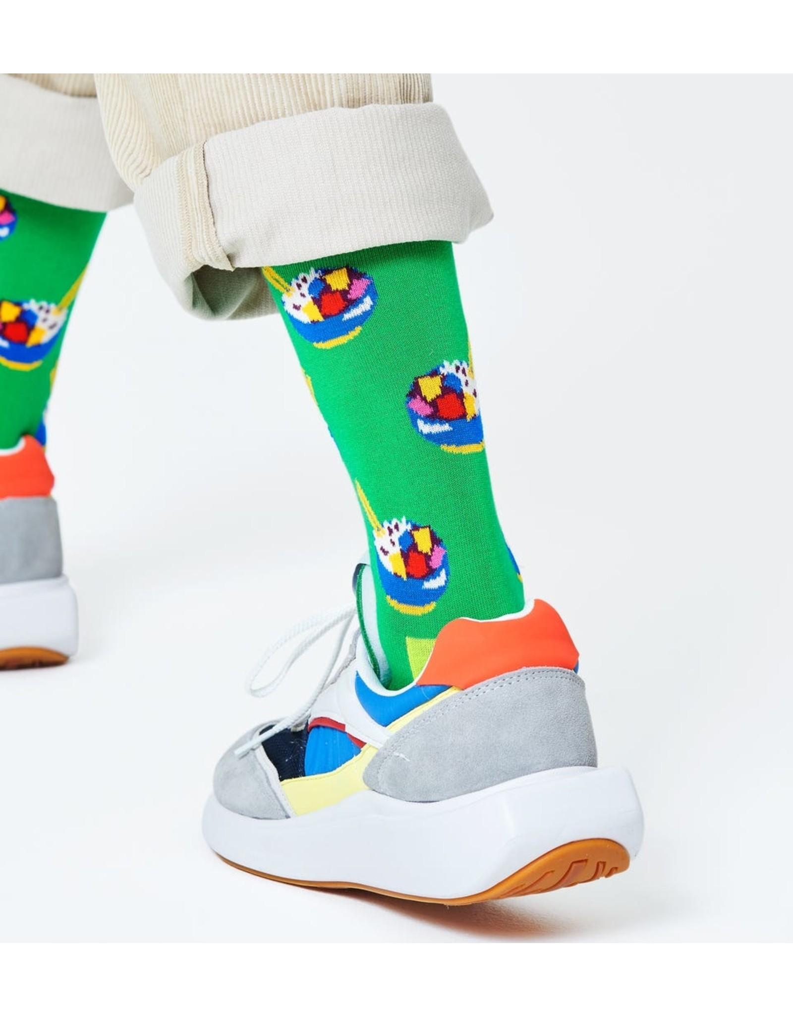 Happy Socks Sokken met poké bowls (MAAT 36/40 + 41/46)
