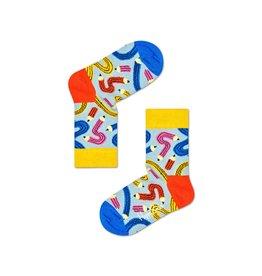 Happy Socks Kindersokken met gekke potloden