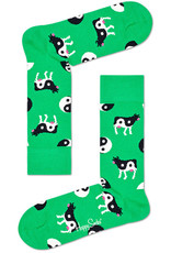 Happy Socks Yin Yang sokken met koeien (MAAT 36/40)
