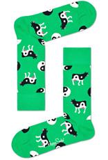 Happy Socks Yin Yang sokken met koeien