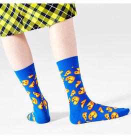 Happy Socks Pizza sokken voor volwassenen