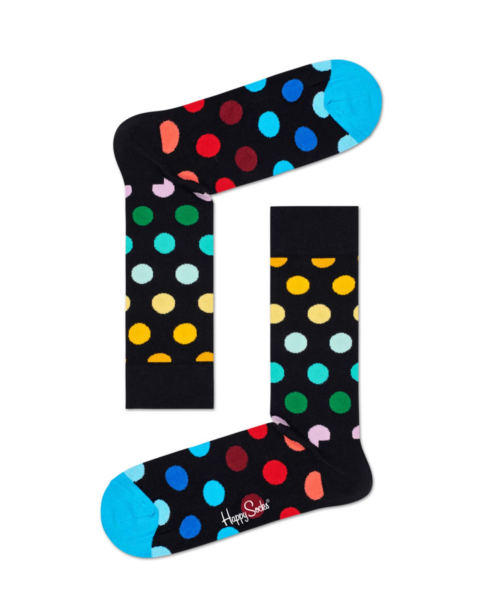 Happy Socks Sokken met gekleurde stippen (MAAT 36/40)