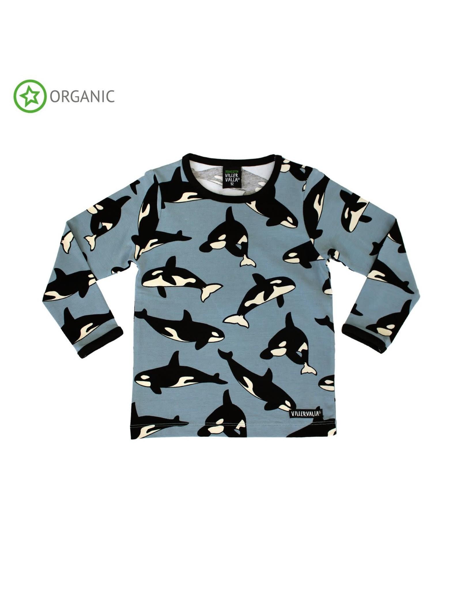 Villervalla T-shirt met orka's