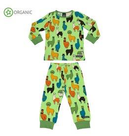 Villervalla Pyjama met lama print