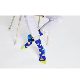 Happy Socks Sokken met stukjes taart (MAAT 36/40)