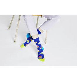 Happy Socks Volwassenen sokken met stukjes taart