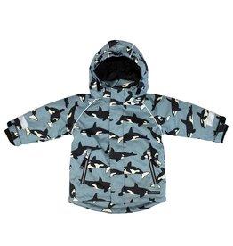 Villervalla Waterproof unisex winterjas met orka print