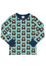 Maxomorra T-shirt met berenprint