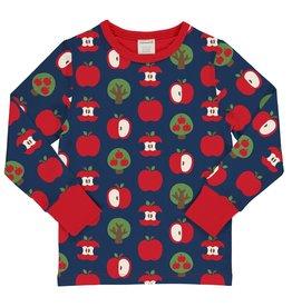 Maxomorra T-shirt met appel print