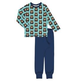 Maxomorra Pyjama met berenprint
