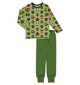 Maxomorra Pyjama met dieren uit het bos